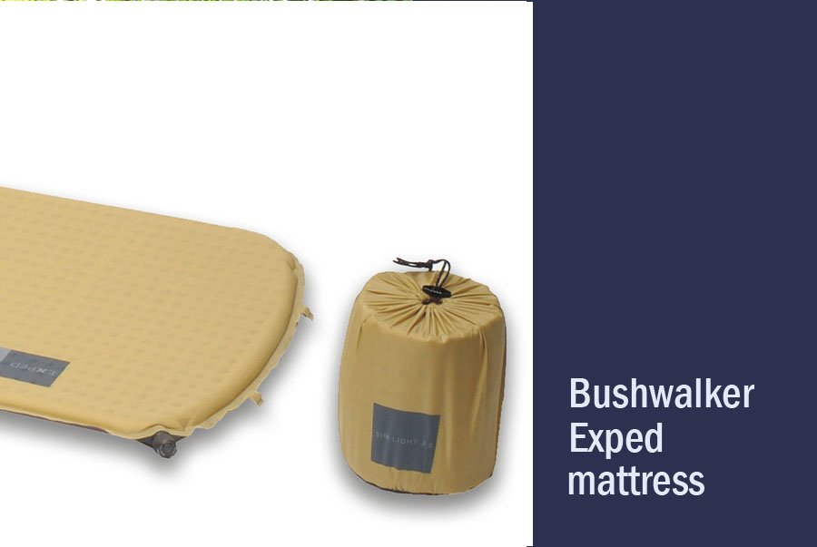 Bushwalkers Exped mattress Hire
