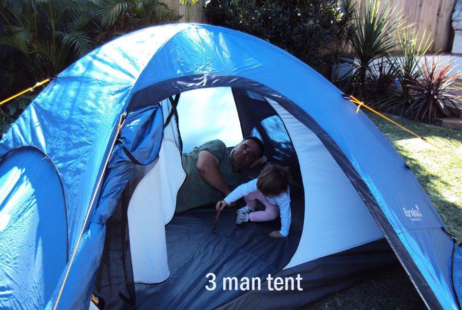 3 man Eureka Tent Hire