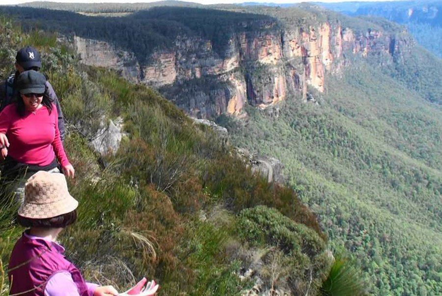 Small Group touring of the Blue Mountains