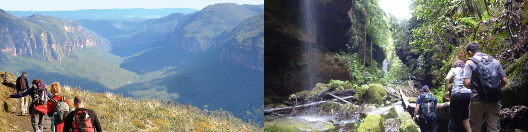 7 day self-guided Blue Mountains walk