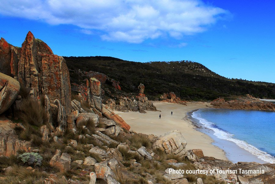 Castle Rock Walk, Marshall Bay, Flinders Island