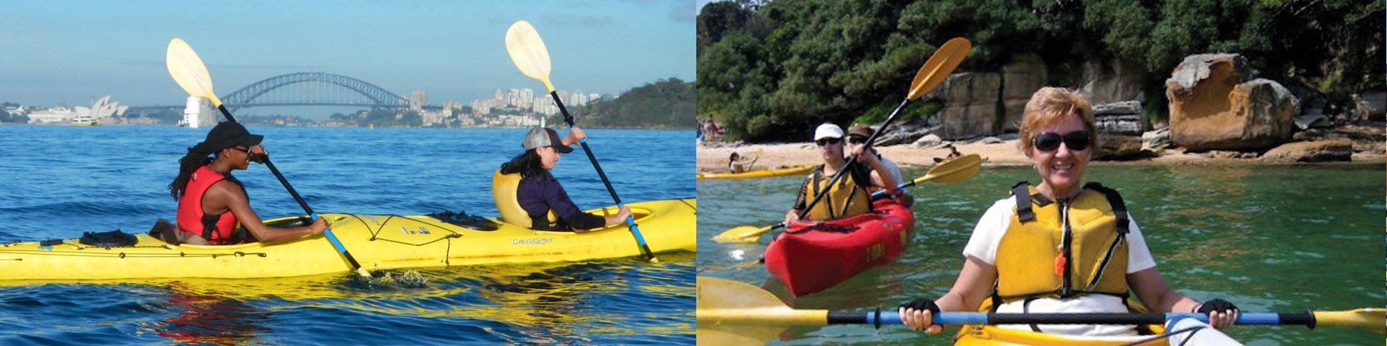 Sydney Harbour Lunch Kayak