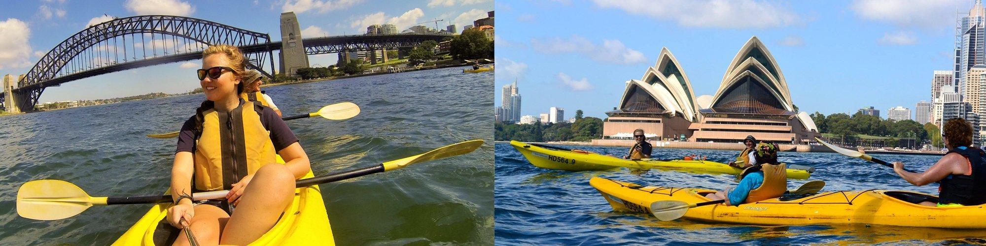 Under the Sydney Harbour Bridge Kayak Tour