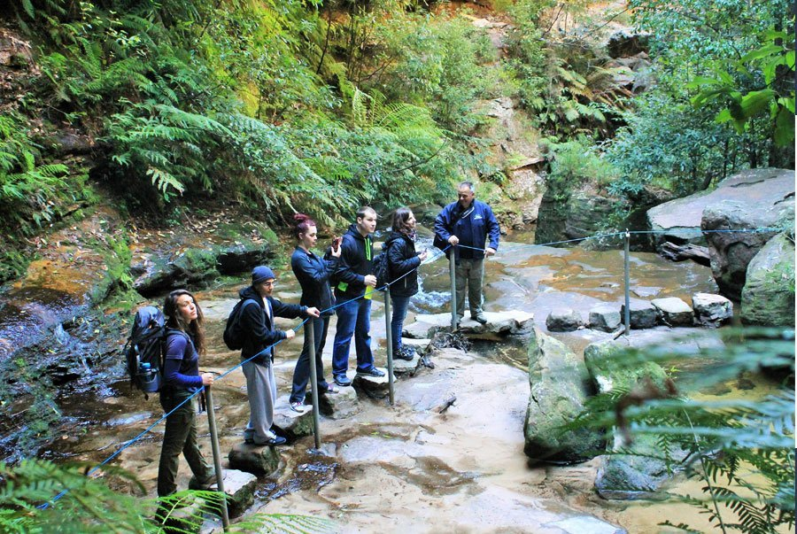 Walking day tour of the Blue Mountains