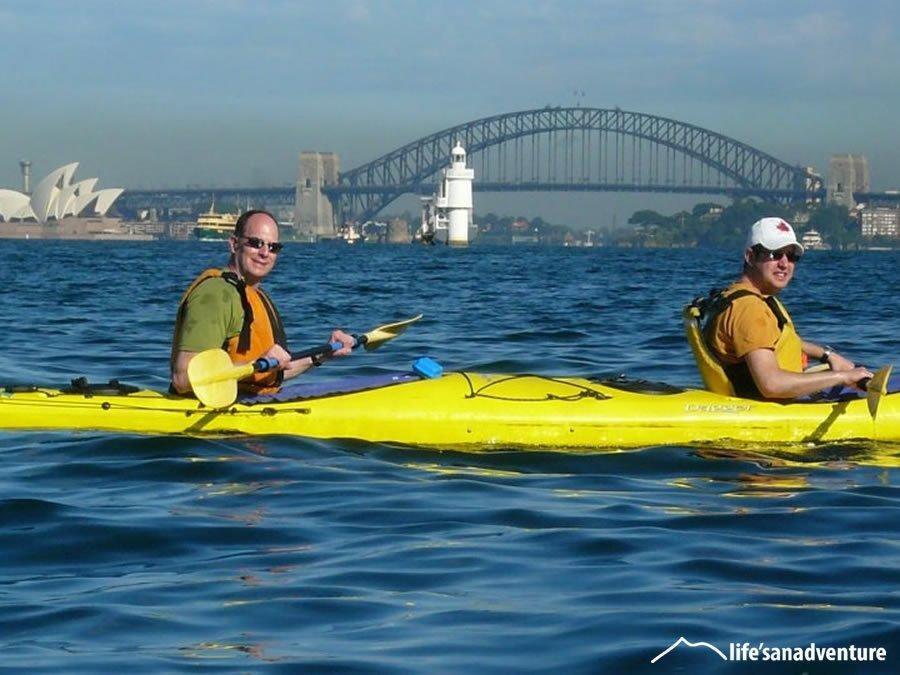 Guided Kayak Sydney Harbour