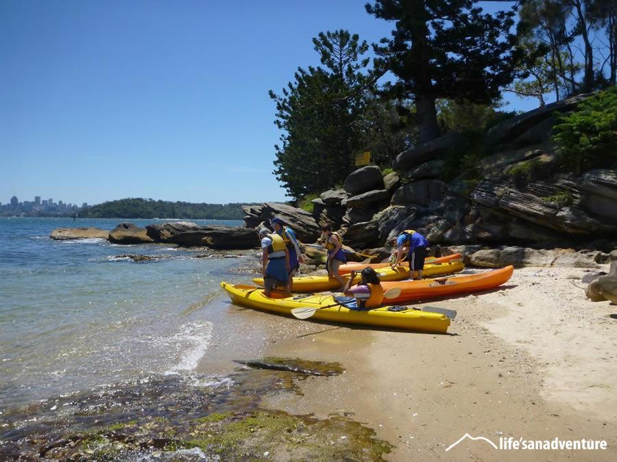 Kayaking tours Sydney Harbour
