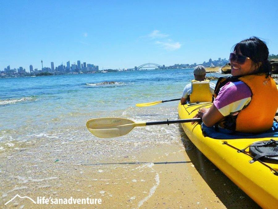 Kayak tour Sydney Harbour