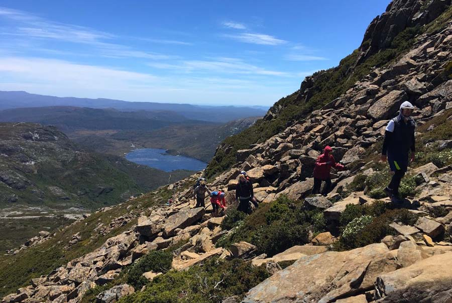 Optional summit climb to Cradle Mountain