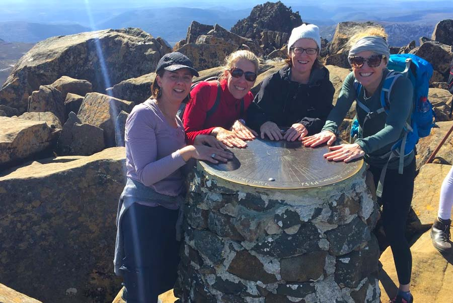 The Summit of Cradle Mountain