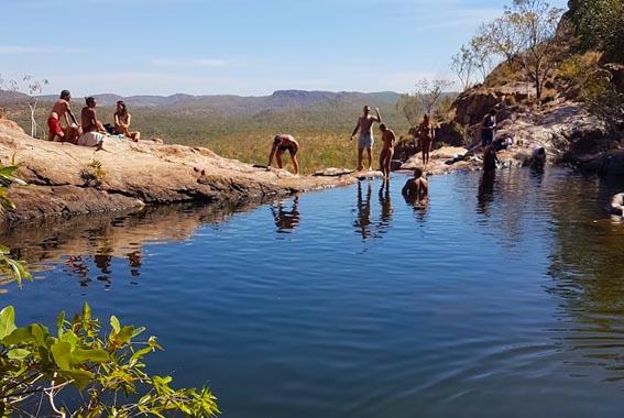 Kakadu National Park walking holiday Northern Territory