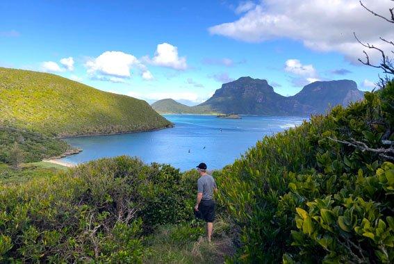 Lord Howe Island walk