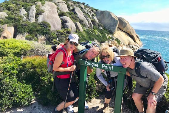 Self Guided Wilsons Promontory Pack-Free Walk