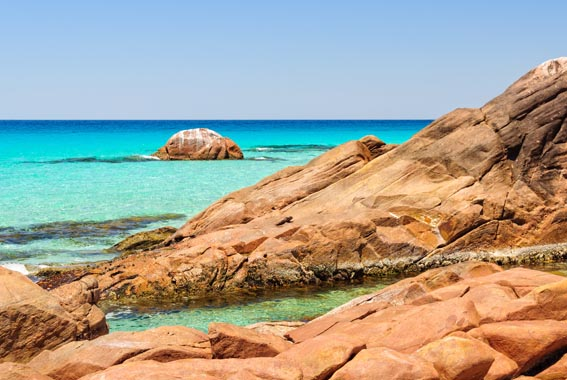 Cape to Cape walk Western Australia