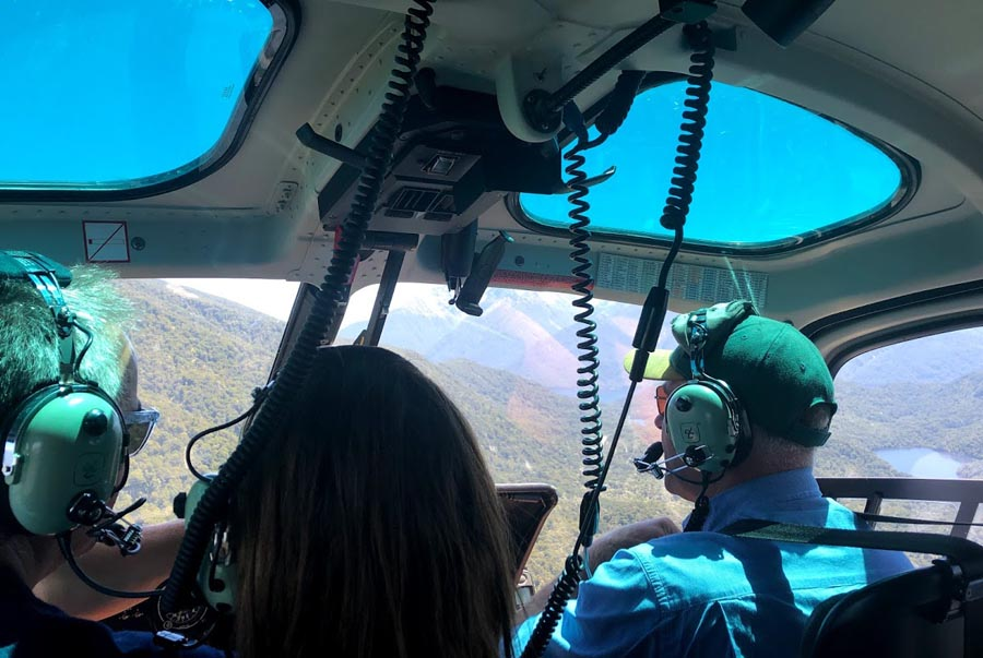 Helicopter to the Kepler Track
