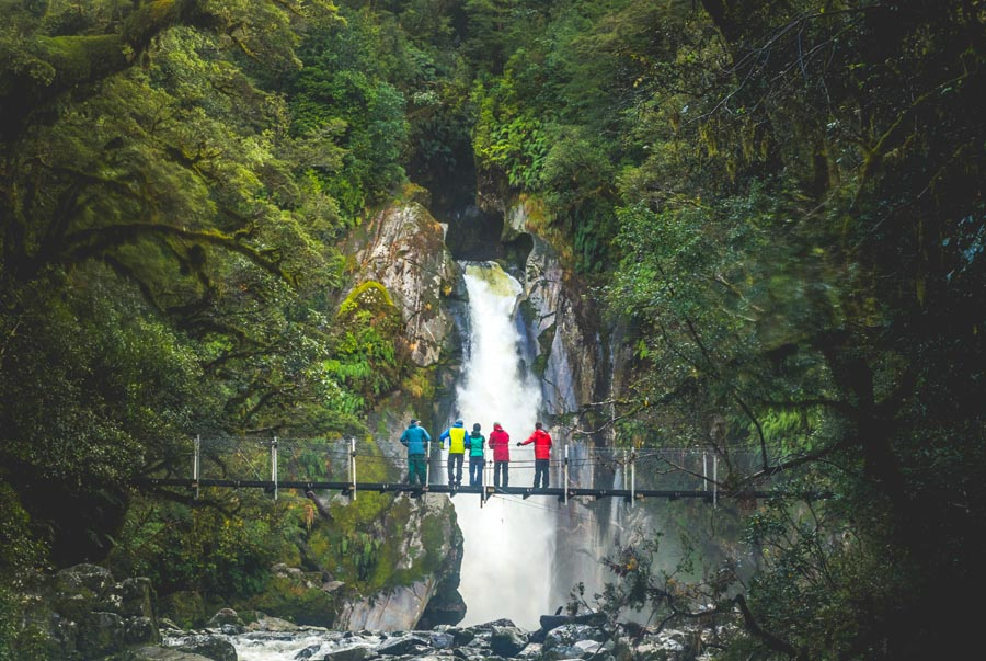 Milford Sound walk - End Section