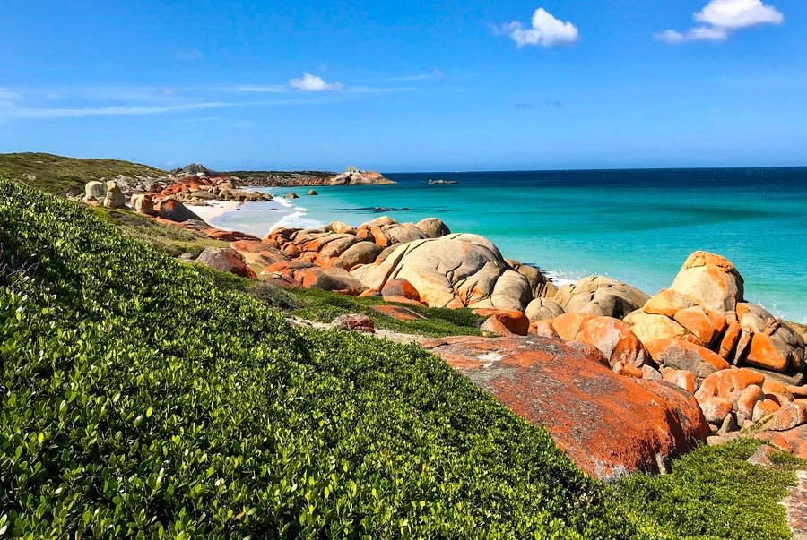 Bay of Fires walk
