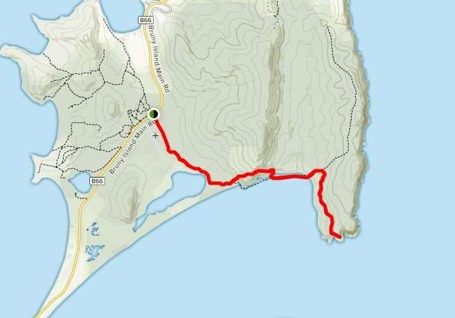 Bruny Island Pack-Free Guided Walk - Day 1