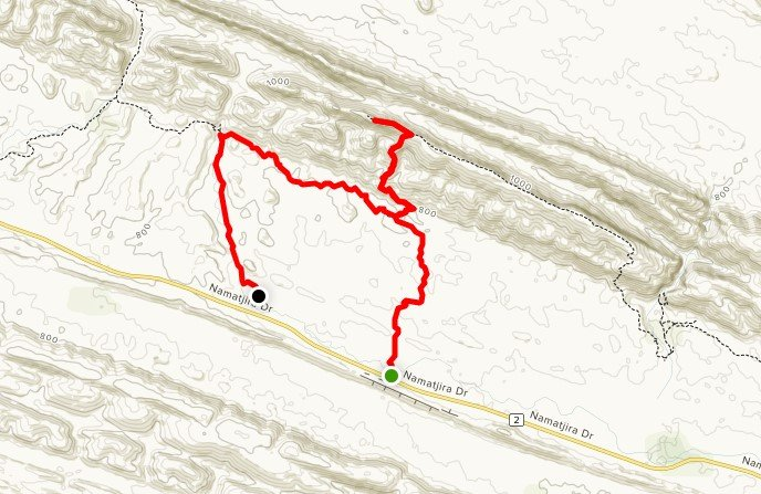 Larapinta Trail Pack-Free Guided - Day 4