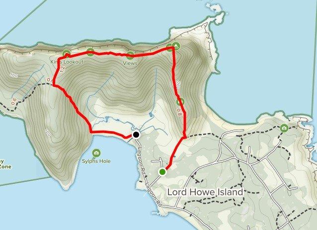 Lord Howe Island Pack-Free Walk - Day 4