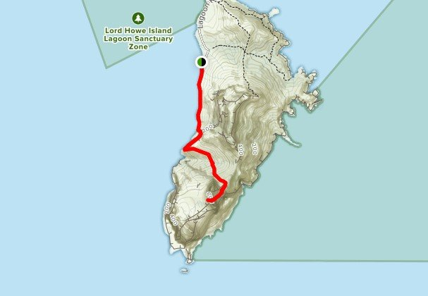 Lord Howe Island Pack-Free Walk - Day 5