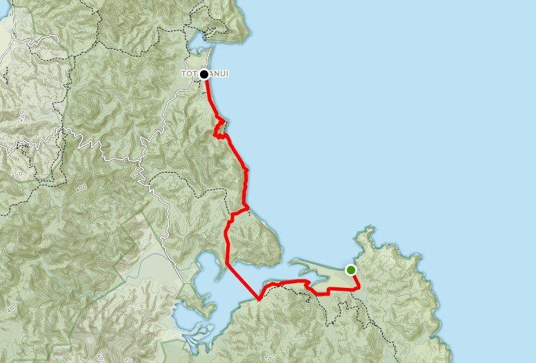 Abel Tasman Pack-Free Guided Walk - Day 2