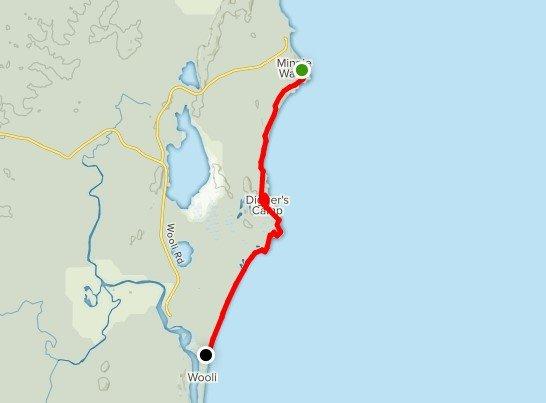 Yuraygir Coastal Pack Free Guided Walk - Day 3