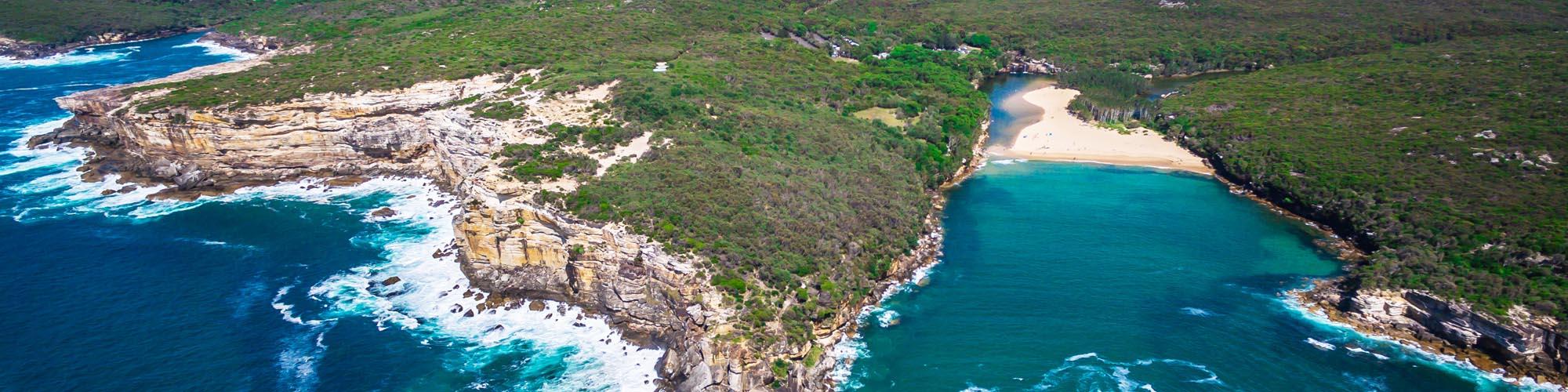 Self Guided walk Coast Track Royal National Park Sydney