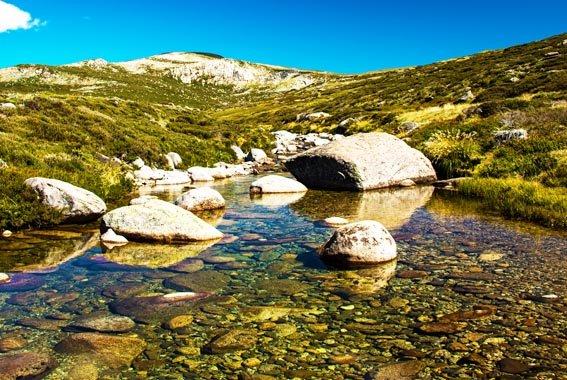 Kosciuszko National Park Snowy Mountains walk