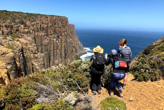 Cape Raoul walk
