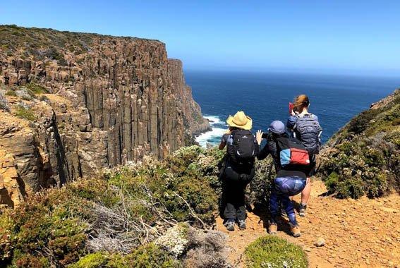 Cape Raoul walk