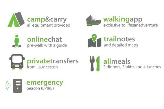 Self Guided Maria Island Camp & Carry Walk