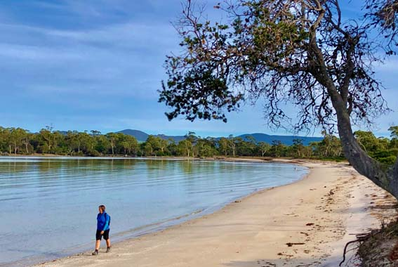 Self Guided Maria Island Camp & Carry Walk